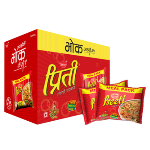Preeti Chicken Meal Pack - 1Box Instant Noodles