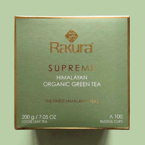 Rakura Supreme Organic Himalayan Green Tea – 200 g