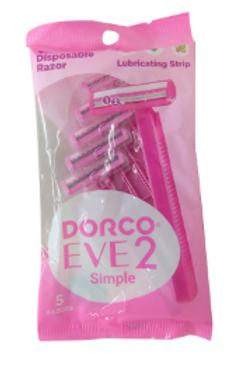 Dorco EVE 2 Simple Women Razors 5 Pic