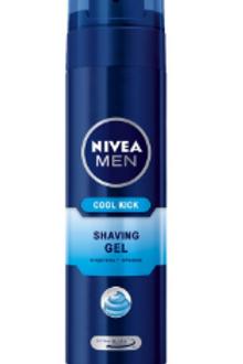 Nivea Men Cool Kick Shaving Gel - 200ml