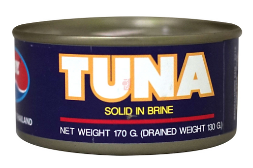 Tuna Solid In Brine - 170g