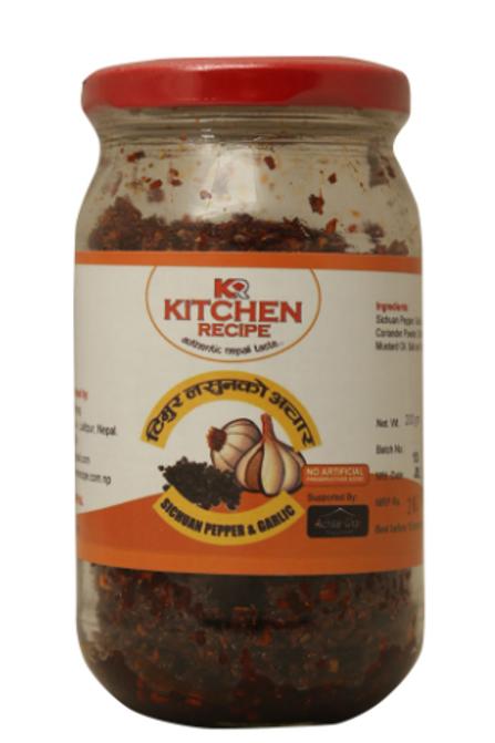 Kitchen Recipe Sichuan Pepper And Garlic Pickle - 200 g