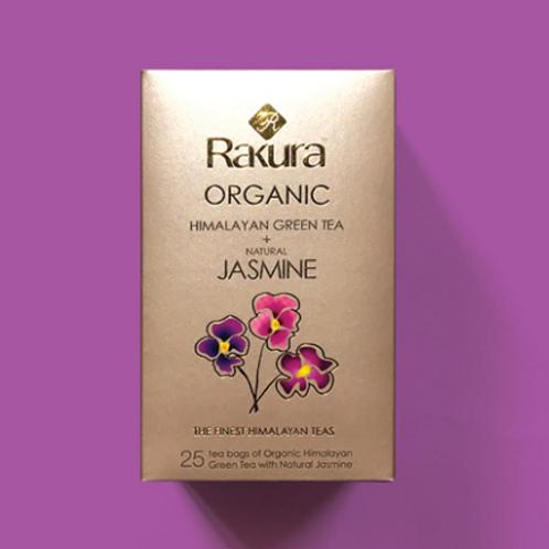 Rakura Himalayan Organic Green Tea + Natural Jasmine