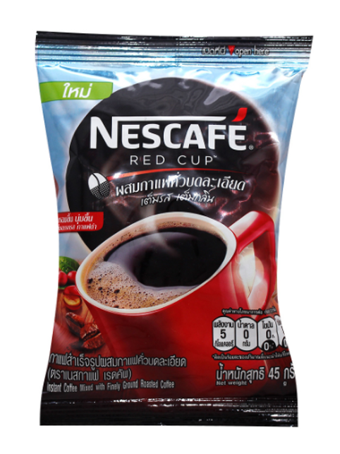Nescafe Red Cup with Finely Ground Roasted Coffee 380g