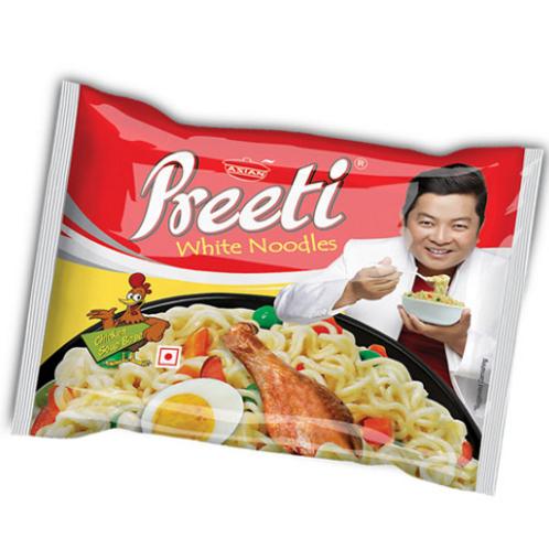Preeti Chicken Soup Base White Noodles -75g