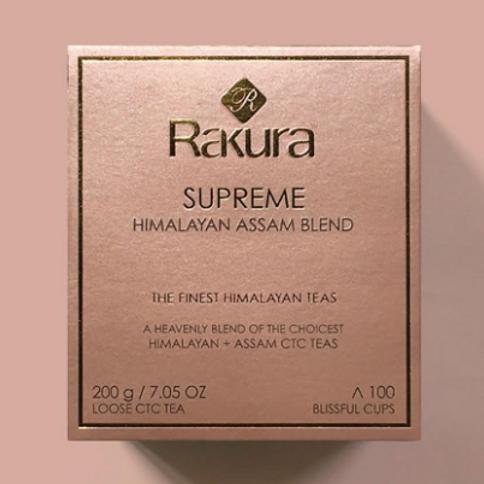 Rakura Supreme Himalayan Assam Blend Tea - 200 g