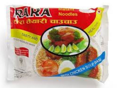Rara Soupy Instant Noodle With Chicken Flavored Masala