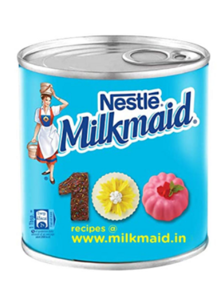Nestle Milkmaid – Sweetened Condensed Milk, 400 g Tin