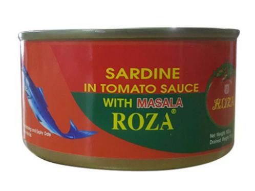 Roza Sardine in Tomato Sauce with Chilli and Masala - 185gm