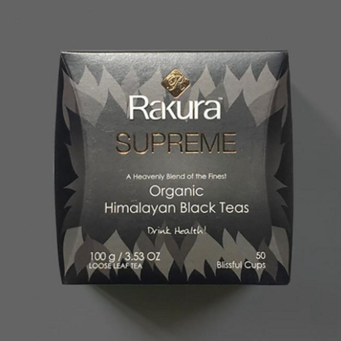 Rakura Supreme Organic Himalayan Black Tea - 100 g