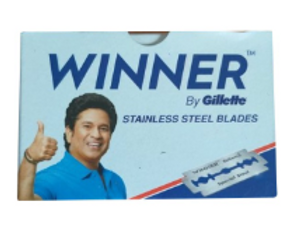 Stainless Steel Blades Winner By Gillette