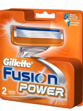 Gillette Fusion Power shaving Razor Blades - 2s Pack (Cartridge)