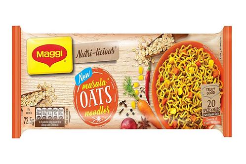 Maggi Nutri-Licious Oats Masala Noodles, 290g Pouch