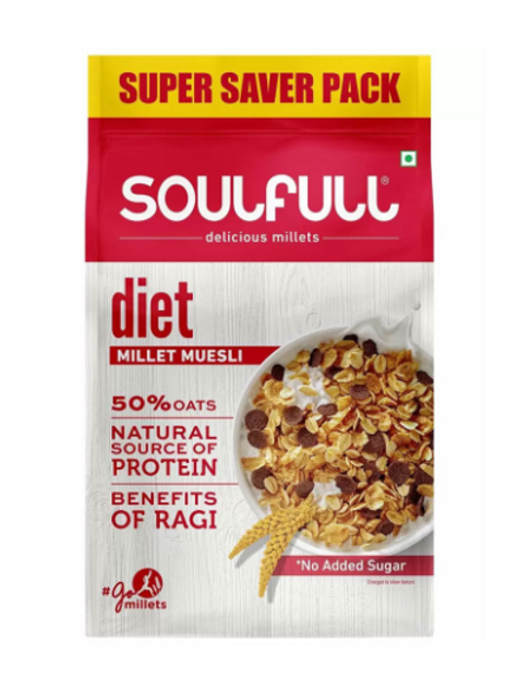 Essential Living SoulFull Millet Muesli - Diet - 700 g