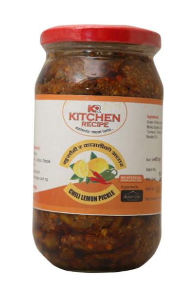 Kitchen Recipe Chilli Lemon Pickle - 400 g