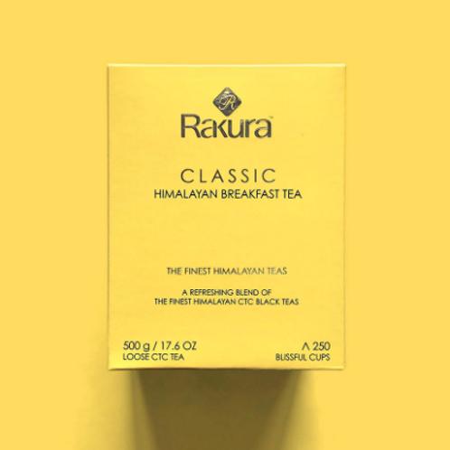 Rakura Classic Himalayan Breakfast Tea - 500 g