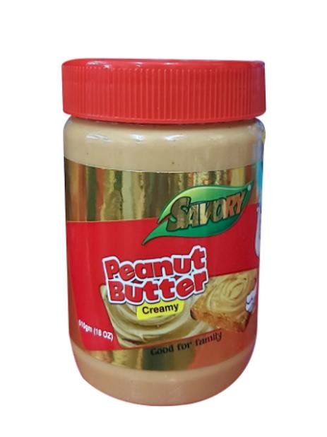 Savory Peanut Butter Creamy - 510gm