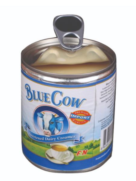 Bluecow Condensed Milk, 390 gms