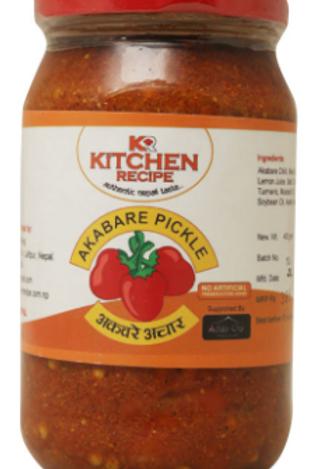 Kitchen Recipe Akabare Pickle - 400 g