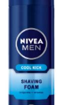 NIVEA MEN Shaving, Fresh & Cool Active Shaving Foam - 200ml