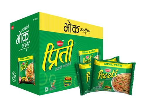 Preeti Veg Meal Instant Noodles - 1 Box