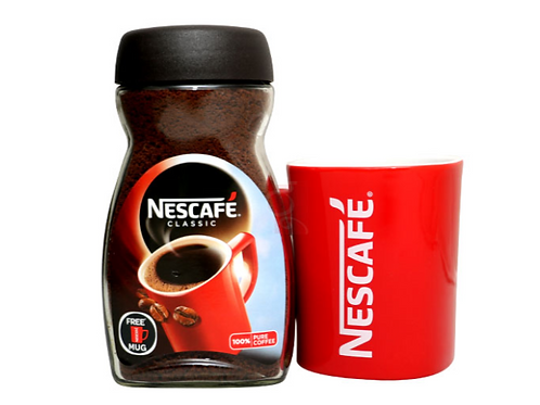 Nescafe Classic Coffee Limited Edition Pack - Free Red Mug