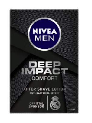 NIVEA MEN Shaving, Deep Impact Comfort After Shave Lotion - 100ml