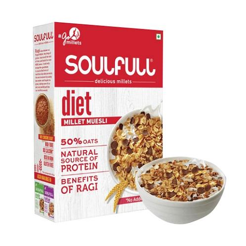 Essential Living SoulFull Millet Muesli - Diet - 400g