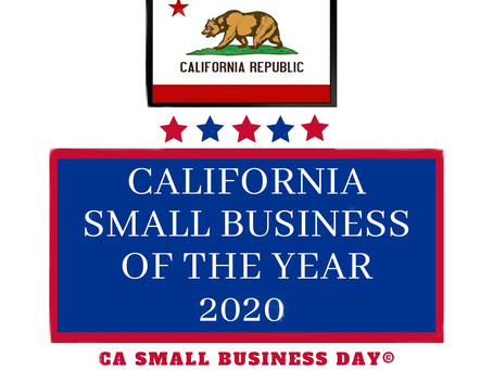 CBC Receives 2020  CA Congressional District 8 Small Business of the Year!