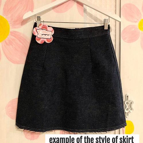 Custom A-line Skirt