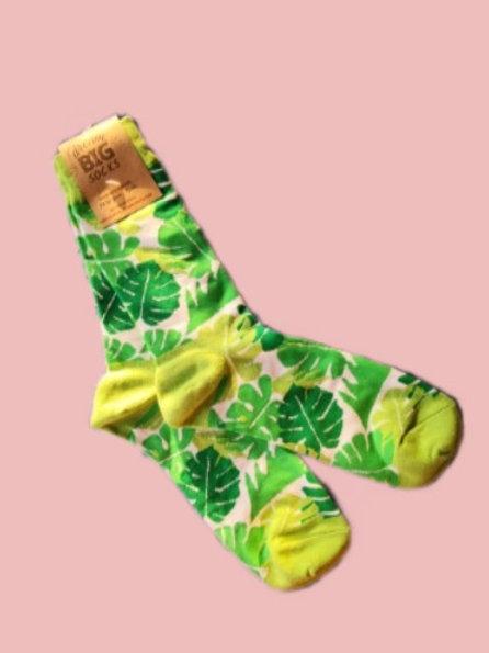 Palm Leave Socks