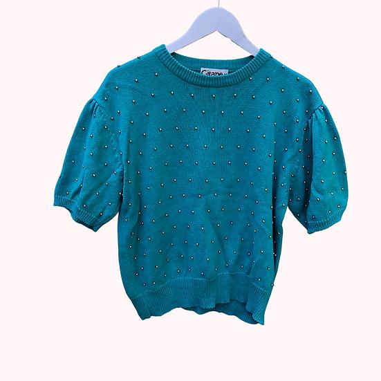 Vintage turquoise Knit