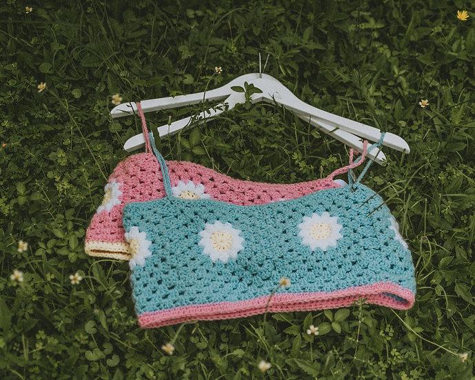 Crochet Daisy Crop