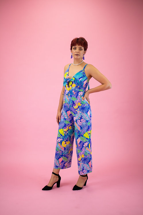 Blue Hawaiian Jumpsuit