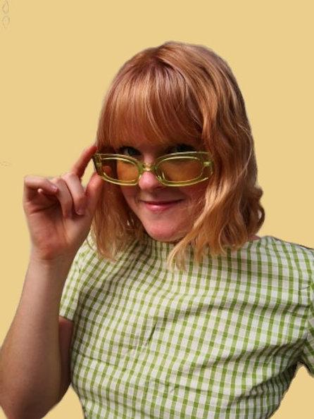 Lime Cordial Sunglasses