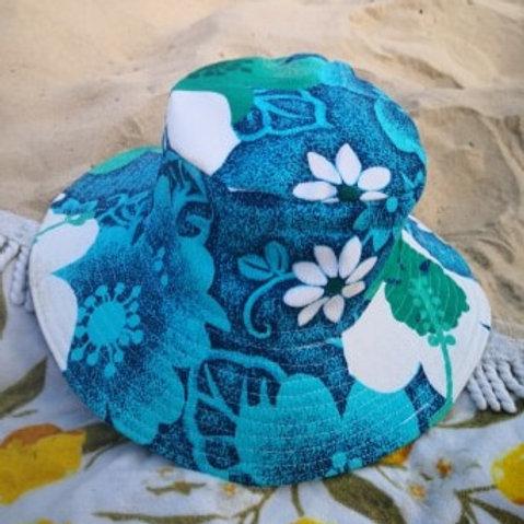Summer Blue Bucket Hat