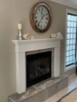 Fire Place mantle by Spaans Bespoke Interior
