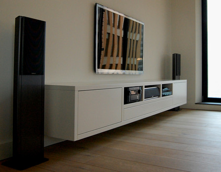 Tv Unit Designed and made by Marnix Spaans