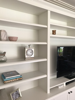 Custom Made Bookcasde _ Tv unit By _Marn