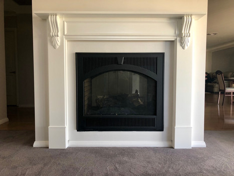 Fire Mantel Surrounding By Marnix Spaans