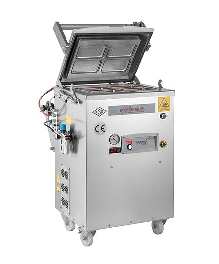 mašina za pakvanje posuda u modifikovanoj atmosferi