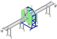 machine for obital - horizontal stretch wrapping