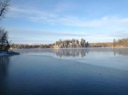 Winter escape in northern Minnesota