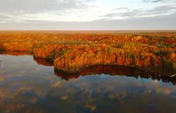 Moose Lake Minnesota fall colors