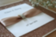 Capercaillie Cards - Wedding invitation card - Rose Gold