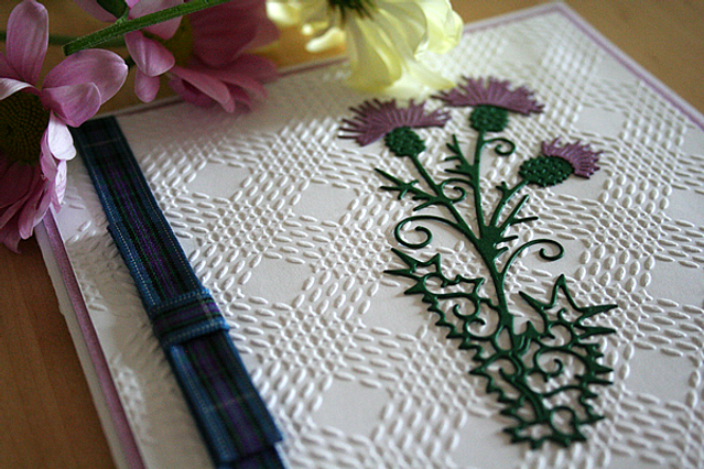 Capercaillie Cards - Wedding invitation card - A Touch Of Scotland