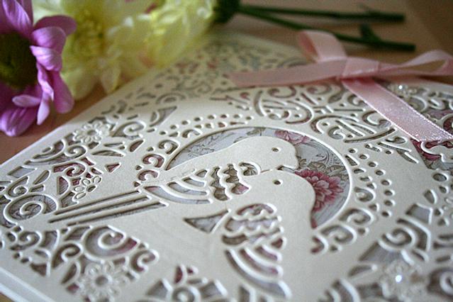 Capercaillie Cards - Wedding invitation card - Love Birds