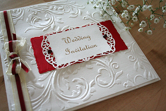 Capercaillie Cards - Wedding invitation card - Claire
