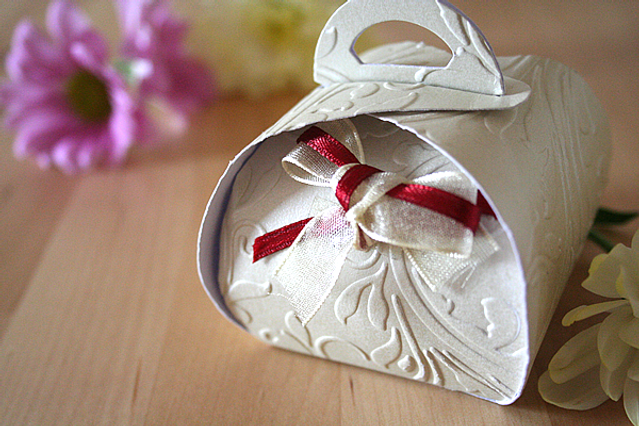 Capercaillie Cards - Wedding favour box - Claire's Keepsake Box