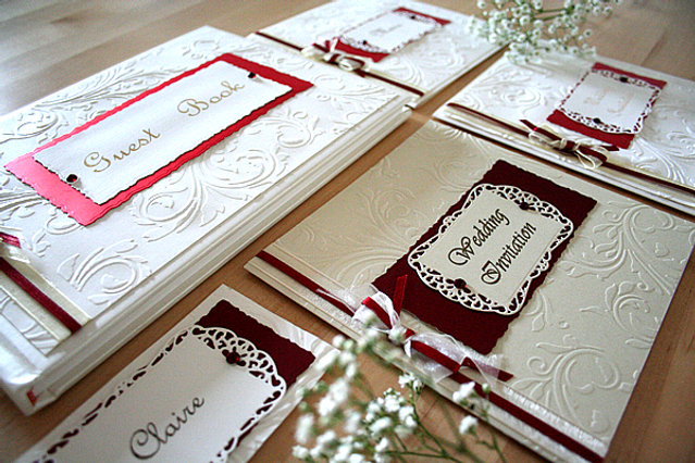 Capercaillie Cards - Wedding stationary - Claire